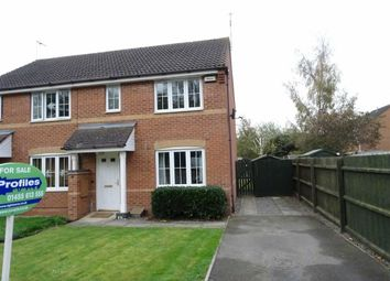 Thumbnail 3 bed semi-detached house for sale in Welbeck Avenue, Burbage, Hinckley