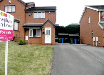 Thumbnail 2 bed semi-detached house to rent in Moor Farm Rise, Mosborough, Sheffield