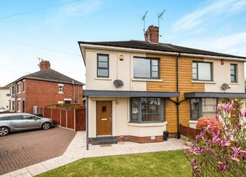Thumbnail 2 bedroom semi-detached house for sale in Woodville Road, Longton, Stoke-On-Trent