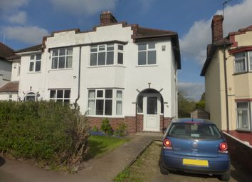 Thumbnail 2 bed semi-detached house for sale in Central Avenue, Kingsthorpe, Northampton