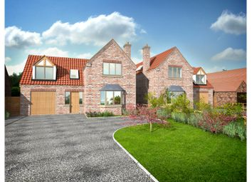 Thumbnail 4 bed detached house for sale in Chapel Lane, Lincoln