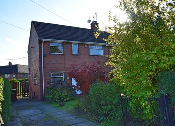 Thumbnail 2 bed semi-detached house for sale in The Moat, Weston Coyney, Stoke-On-Trent