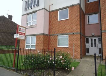 Thumbnail 2 bed flat for sale in Hindmarsh Drive, Ashington