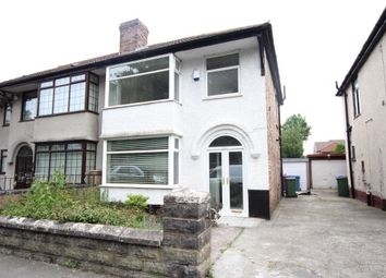 Thumbnail 3 bed semi-detached house to rent in Eaton Road, West Derby, Liverpool