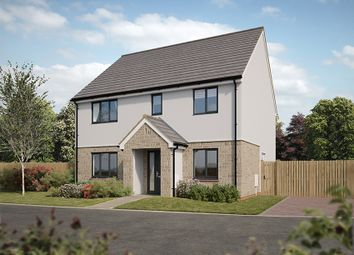 "Thumbnail 4 bed detached house for sale in ""The Marlborough"" at Pomphlett Farm Industrial, Broxton Drive, Plymouth"
