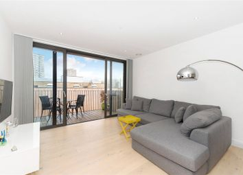 Thumbnail 1 bed flat to rent in Cobalt Place, Battersea, London