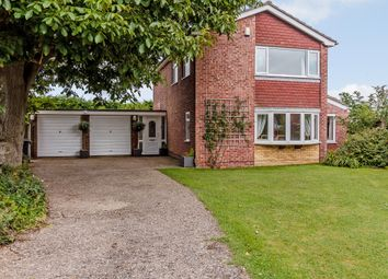 Thumbnail 4 bed detached house for sale in Exeter Close, Lincoln