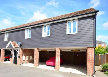Thumbnail 1 bed semi-detached house for sale in Oswald Drive, Rochester, Kent