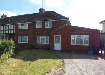 Thumbnail 5 bed semi-detached house to rent in Magna Road, Englefield Green, Egham