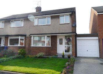 Thumbnail 3 bed semi-detached house for sale in Pont View, Ponteland, Newcastle Upon Tyne