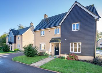 Thumbnail 4 bed detached house for sale in Marys Way, Meldreth