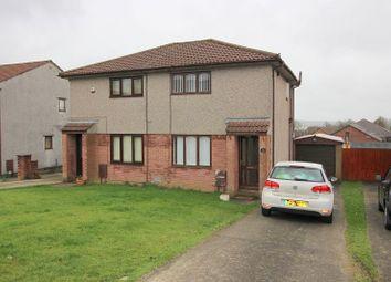 Thumbnail 2 bed semi-detached house to rent in Ashbrook, Brackla, Bridgend.