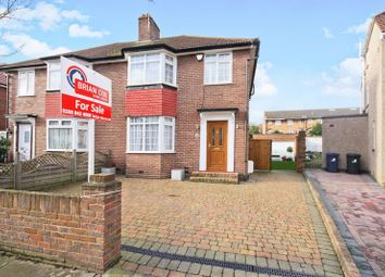 Thumbnail 4 bed semi-detached house for sale in Rectory Gardens, Northolt