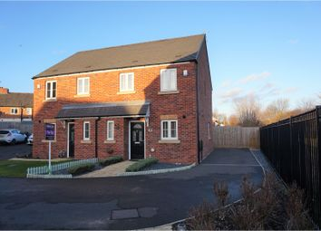 Thumbnail 3 bed semi-detached house for sale in Waterside Close, Nottingham