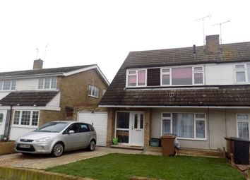 Thumbnail 3 bed semi-detached house to rent in Hollywood Close, Great Baddow, Chelmsford