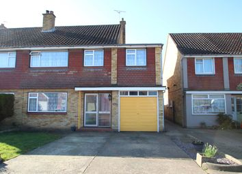 Thumbnail 4 bed semi-detached house for sale in Wareham Avenue, Ipswich