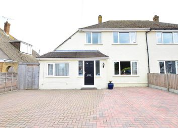 Thumbnail 3 bed semi-detached house for sale in Middle Deal Road, Deal, Kent