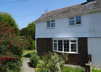 Thumbnail 2 bed end terrace house to rent in Silverhill Cottages, Hurst Green, East Sussex