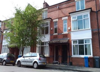 Thumbnail 4 bed terraced house to rent in Russell Avenue, Whalley Range, Manchester