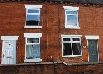 Thumbnail 2 bed terraced house to rent in Stone Road, Uttoxeter