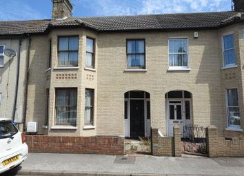 Thumbnail 4 bed terraced house for sale in Windsor Road, Lowestoft