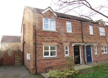 Thumbnail 3 bed semi-detached house to rent in Dean Road, Scunthorpe
