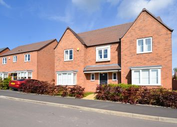Thumbnail 4 bed detached house for sale in Aero Way, Cofton Hackett, Birmingham