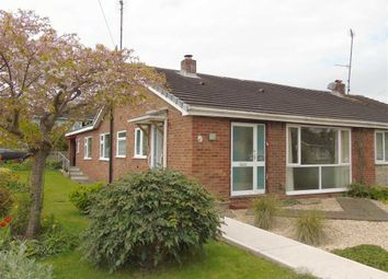 Thumbnail 3 bed semi-detached bungalow for sale in 20, Chepstow Avenue, Guilsfield, Welshpool, Powys