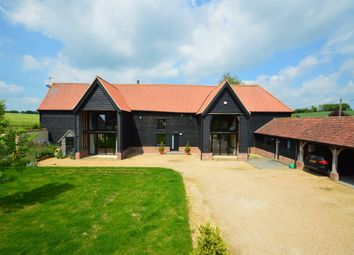 Thumbnail 5 bed barn conversion for sale in Clare Road, Poslingford, Sudbury