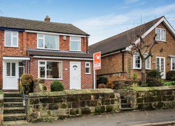 Thumbnail 3 bed semi-detached house for sale in George Street, Melbourne, Derbyshire