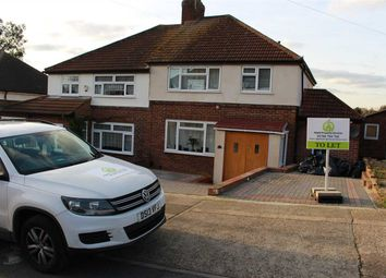 Thumbnail 4 bed semi-detached house to rent in Fontayne Avenue, Romford