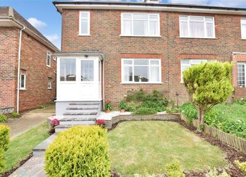 Thumbnail 3 bed semi-detached house for sale in Dale Crescent, Patcham, Brighton, East Sussex