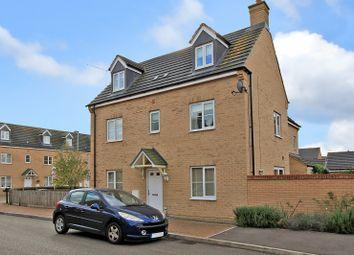 Thumbnail 4 bedroom semi-detached house for sale in Kides Crescent, Longstanton, Cambridge
