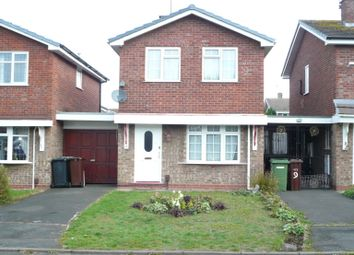 Thumbnail 3 bed detached house to rent in Alverstoke Close, Wolverhampton