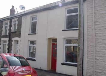 Thumbnail 3 bed terraced house to rent in Taff Street, Ferndale, Rhondda Cynon Taff.