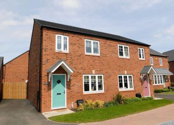 Thumbnail 3 bed semi-detached house for sale in Mill Hill Wood Way, Ibstock