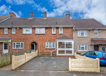 Thumbnail 3 bed terraced house for sale in Fountains Road, Bloxwich, Walsall