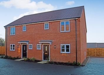 Thumbnail 3 bedroom semi-detached house for sale in Blacksmiths Gardens, Thurlton, Norwich