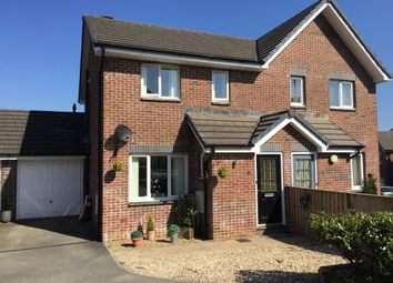 Thumbnail 3 bed semi-detached house for sale in Snowdrop Crescent, Launceston