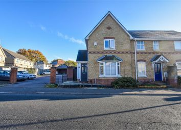 Thumbnail 3 bed end terrace house for sale in Derwent Road, Highwoods, Colchester, Essex