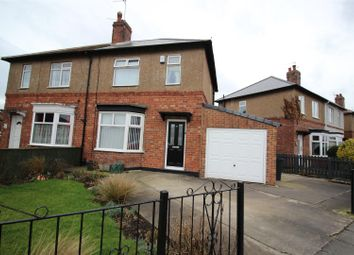Thumbnail 2 bed semi-detached house for sale in The Crossway, Darlington