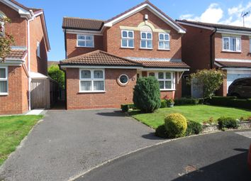 Thumbnail 4 bed detached house for sale in Searle Avenue, Stafford