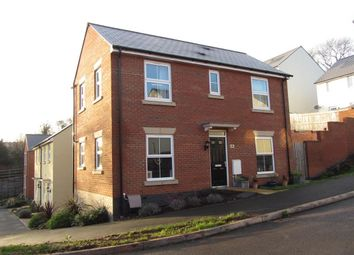 Thumbnail 3 bedroom detached house to rent in Sampson Close, Sidmouth