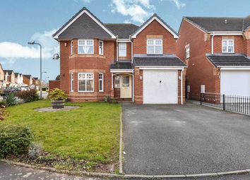 Thumbnail 4 bed detached house for sale in Moor Furlong, Stretton, Burton-On-Trent