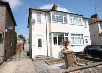 Thumbnail 2 bed semi-detached house to rent in Fourth Avenue, Luton