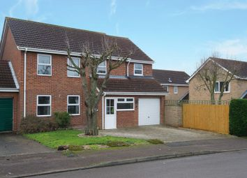Thumbnail 4 bed link-detached house for sale in Edinburgh Drive, Eaton Socon, St. Neots