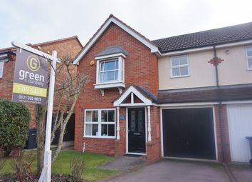 Thumbnail 3 bed end terrace house for sale in Water Mill Crescent, Sutton Coldfield