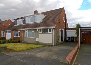 Thumbnail 3 bed semi-detached house for sale in Weardale Avenue, Forest Hall, Newcastle Upon Tyne