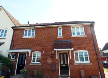 Thumbnail 2 bedroom terraced house to rent in Dunnock Close, Stowmarket