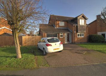 Thumbnail 3 bed detached house for sale in Brascote Road, Hinckley